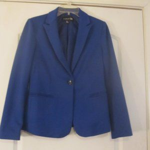 Forever 21 Royal Blue One Button Blazer Size S/P